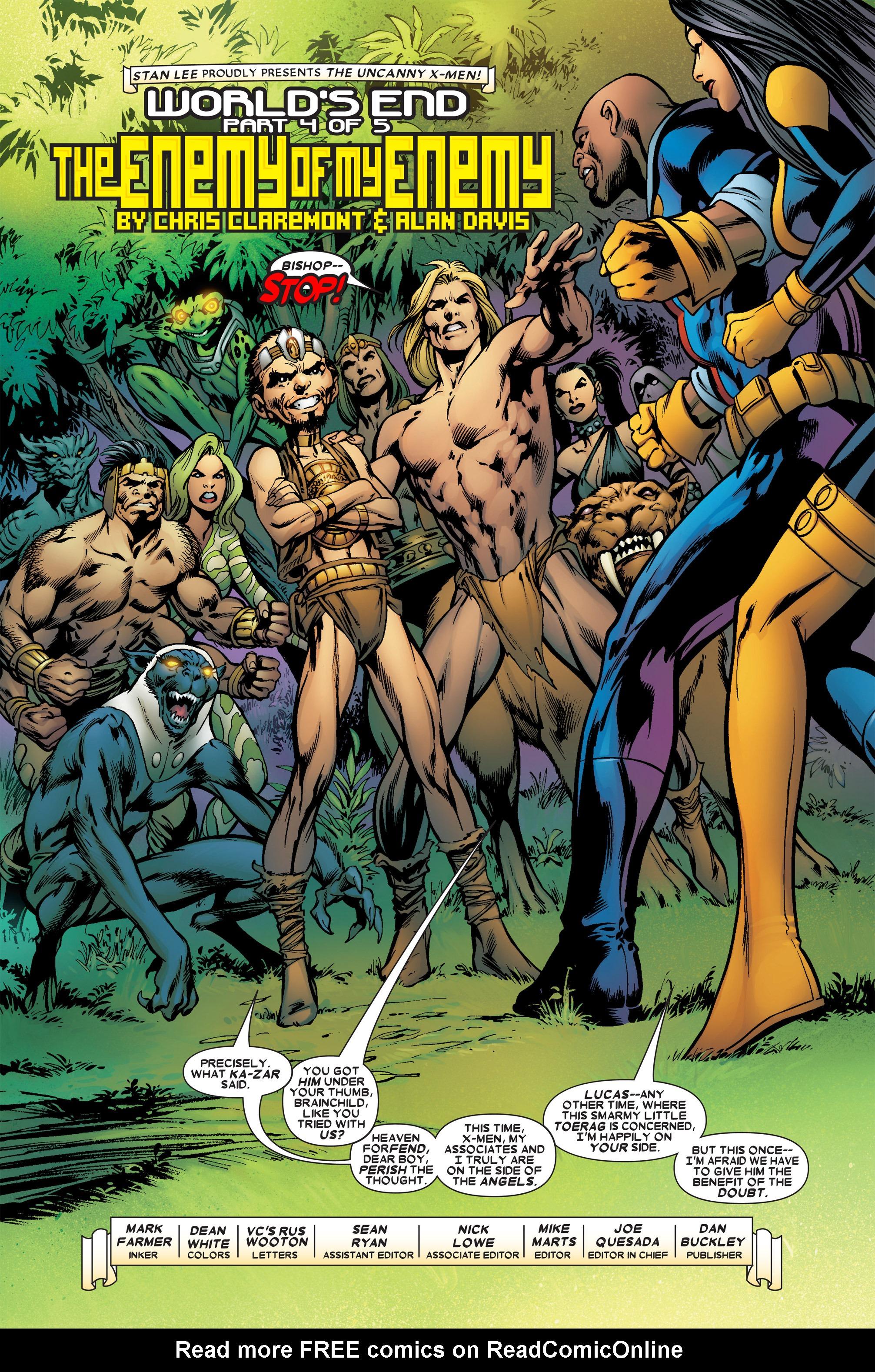Read online Uncanny X-Men (1963) comic -  Issue #458 - 3