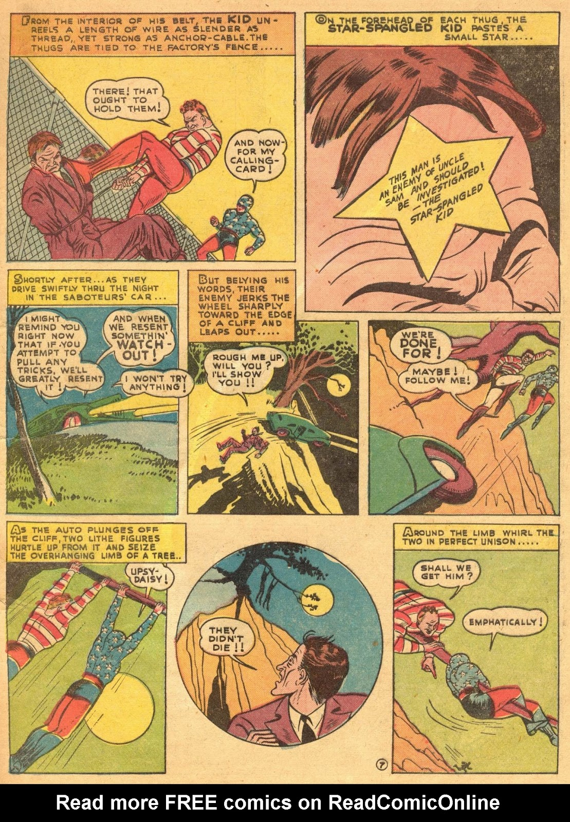 Star Spangled Comics (1941) issue 1 - Page 9