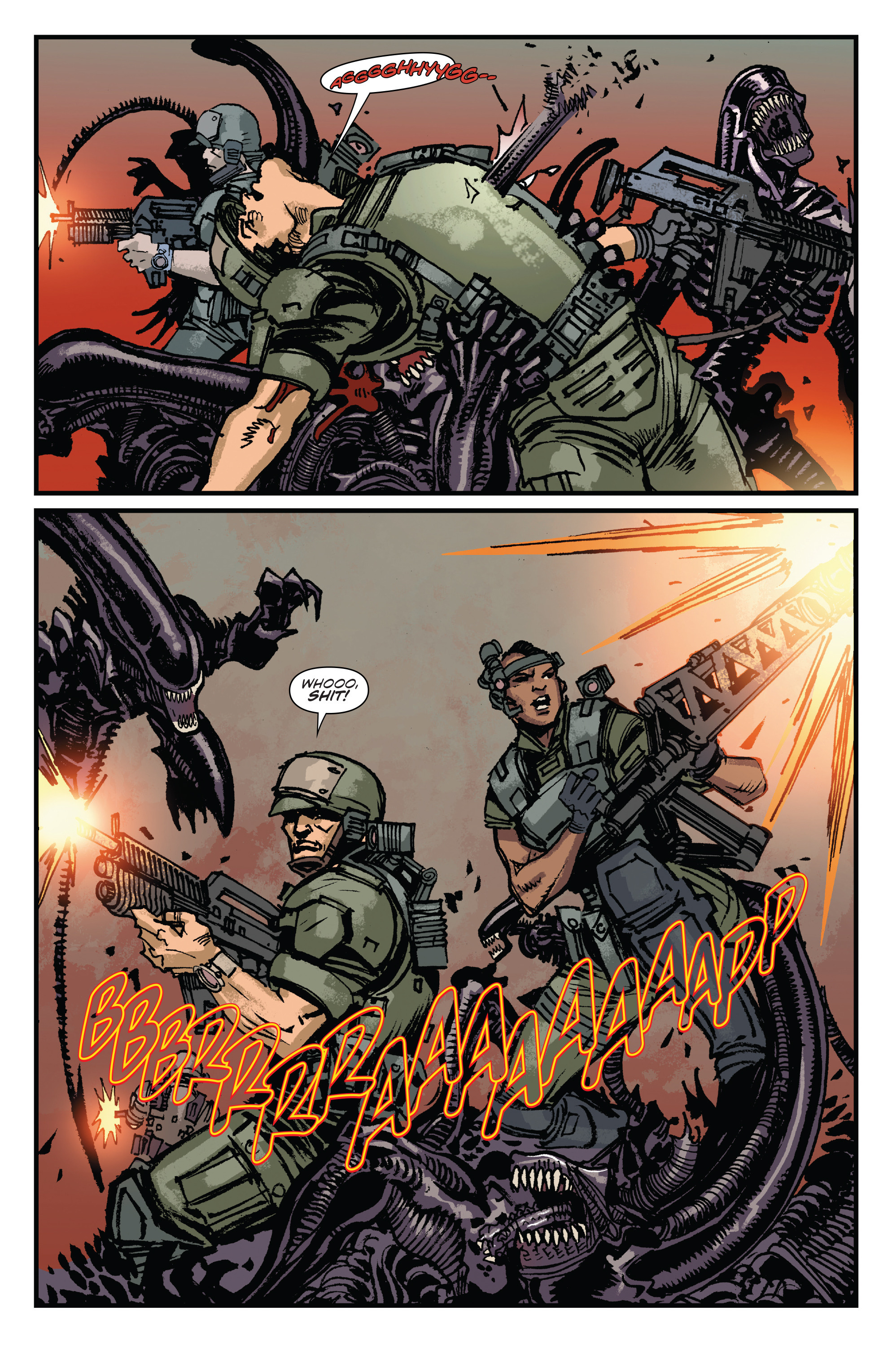 Read online Aliens: Life And Death comic -  Issue #3 - 18