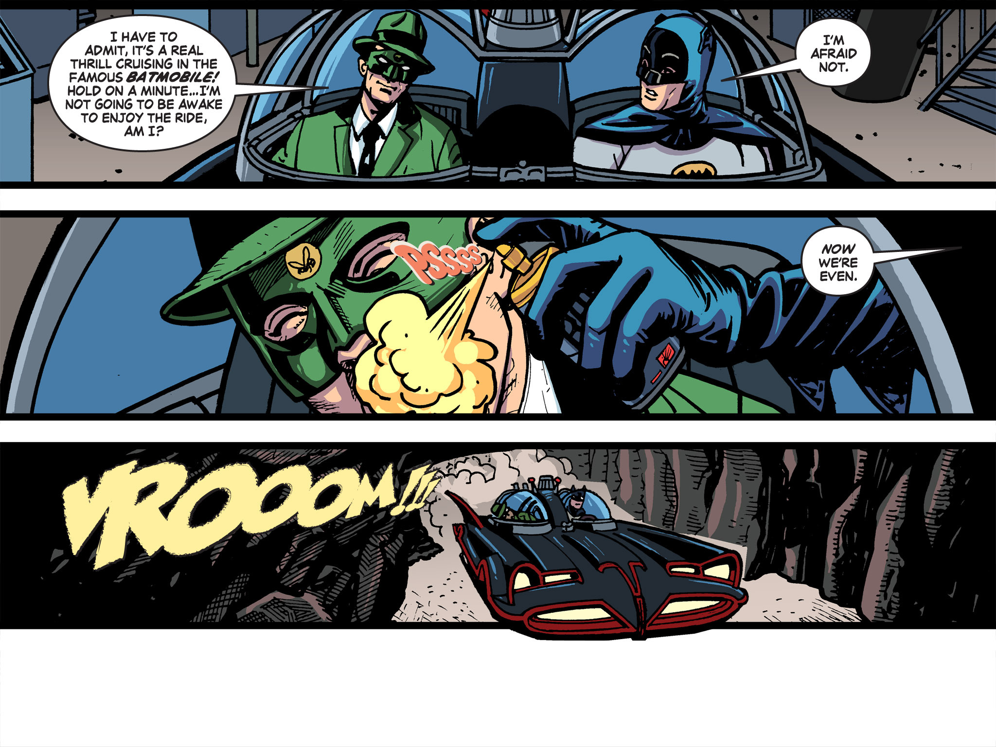 Read online Batman '66 Meets the Green Hornet [II] comic -  Issue #5 - 78
