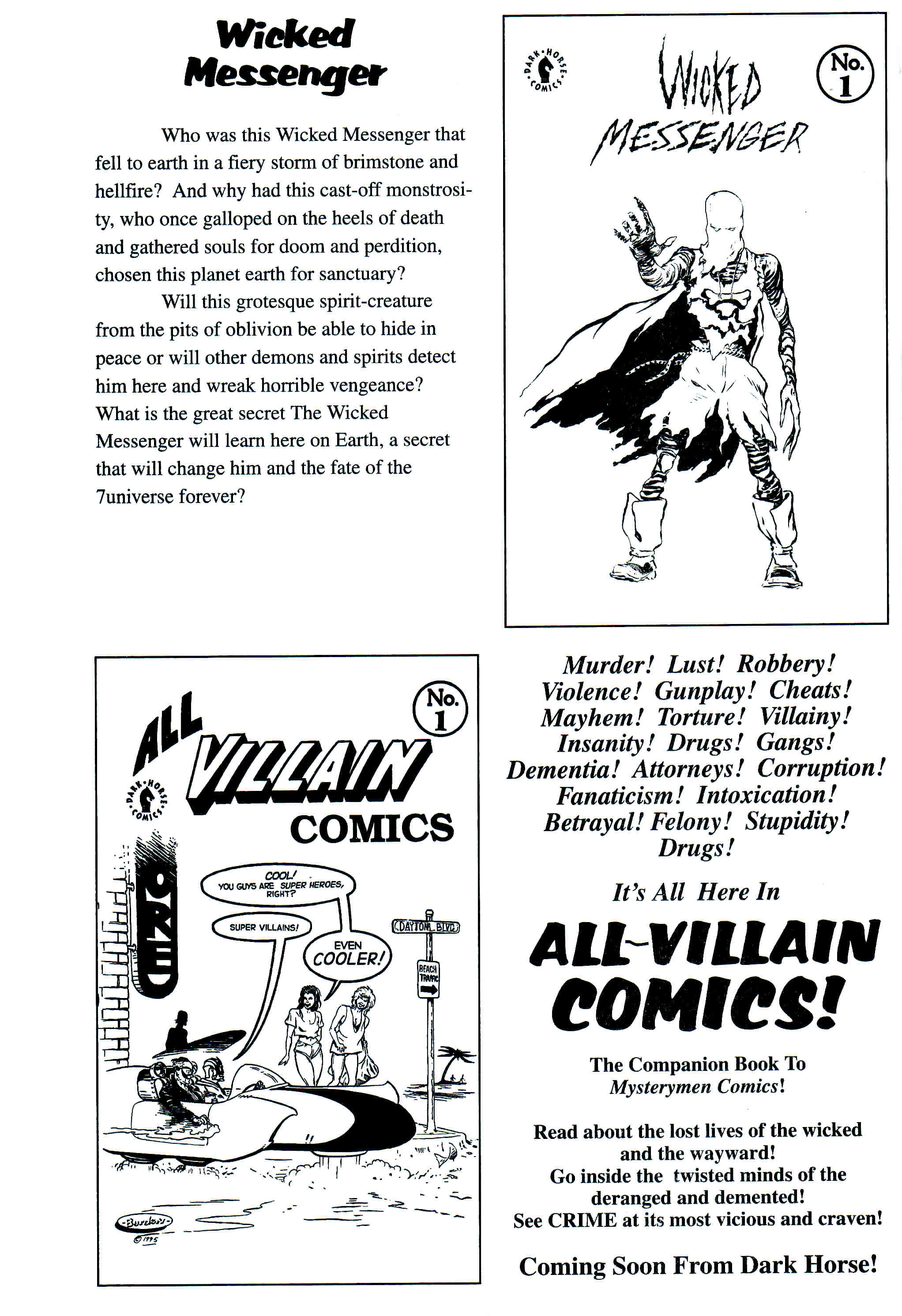 Read online Flaming Carrot Comics (1988) comic -  Issue # _Annual 1 - 66