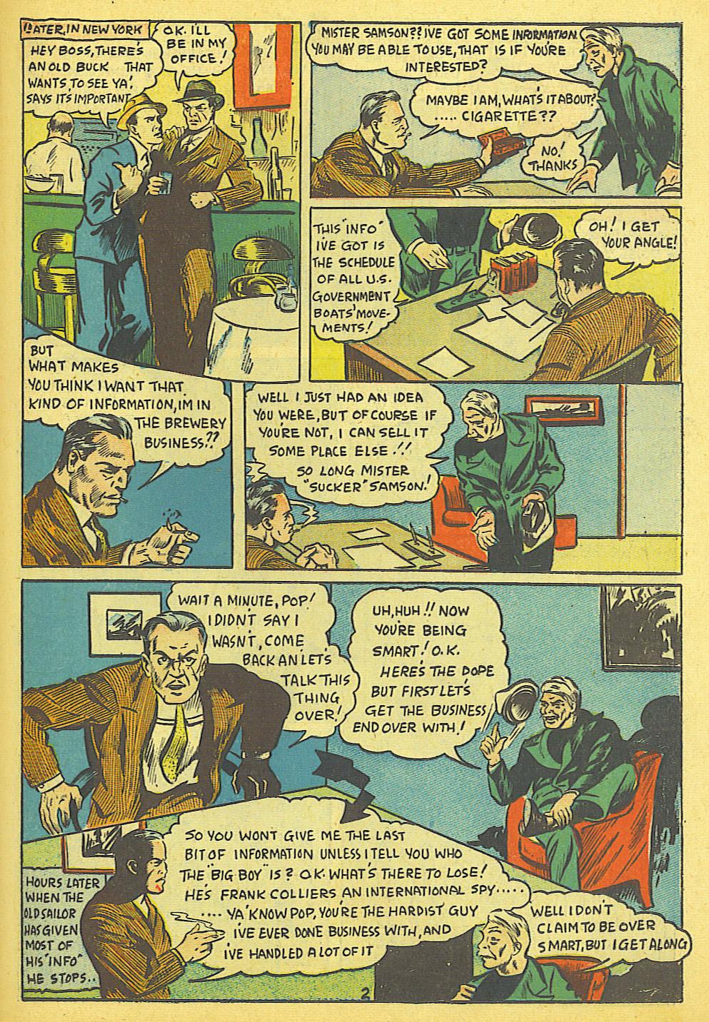 Read online Amazing Man Comics comic -  Issue #19 - 45