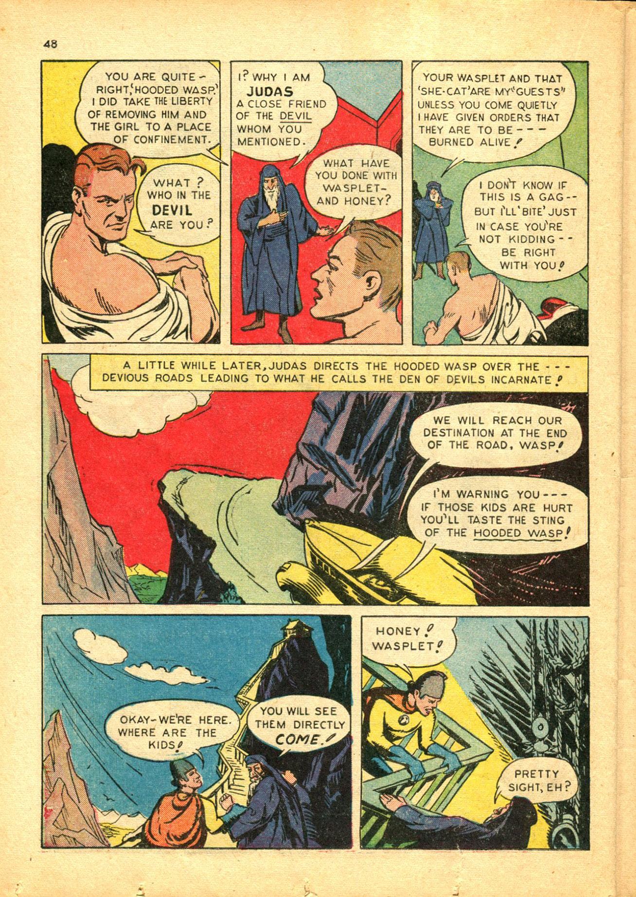 Read online Shadow Comics comic -  Issue #30 - 48