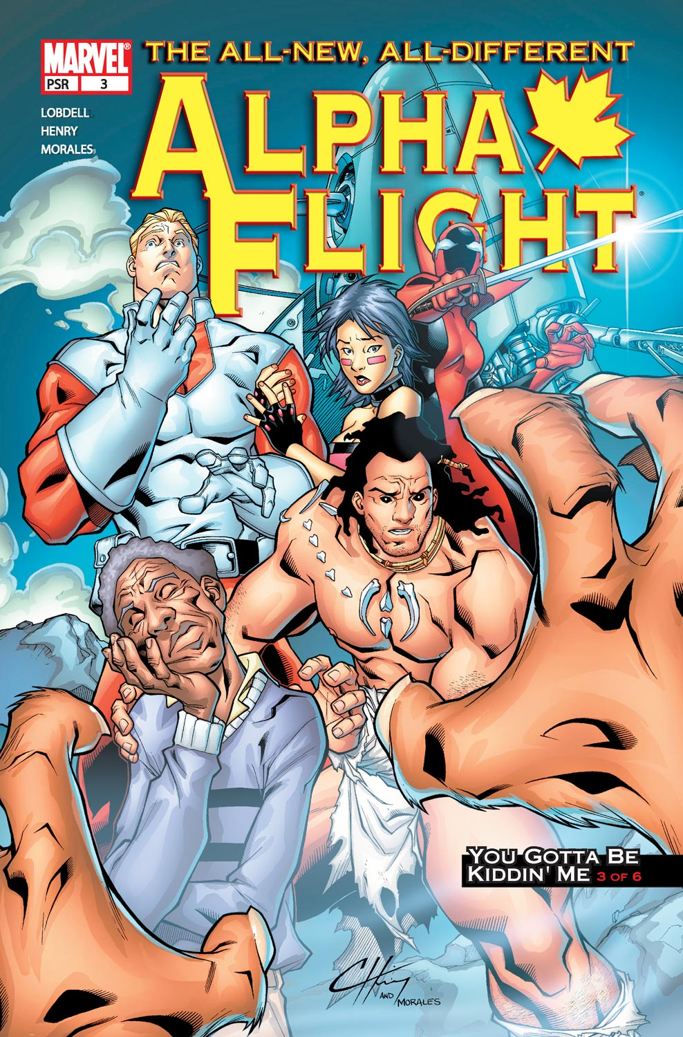 Alpha Flight (2004) issue 3 - Page 1