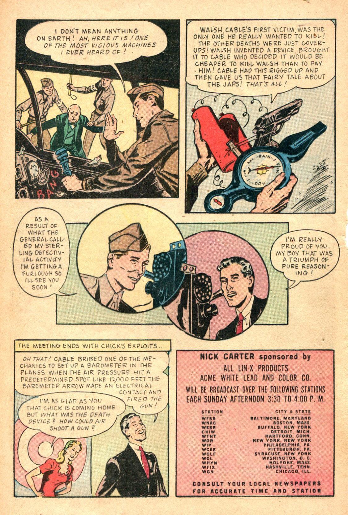 Read online Shadow Comics comic -  Issue #47 - 33