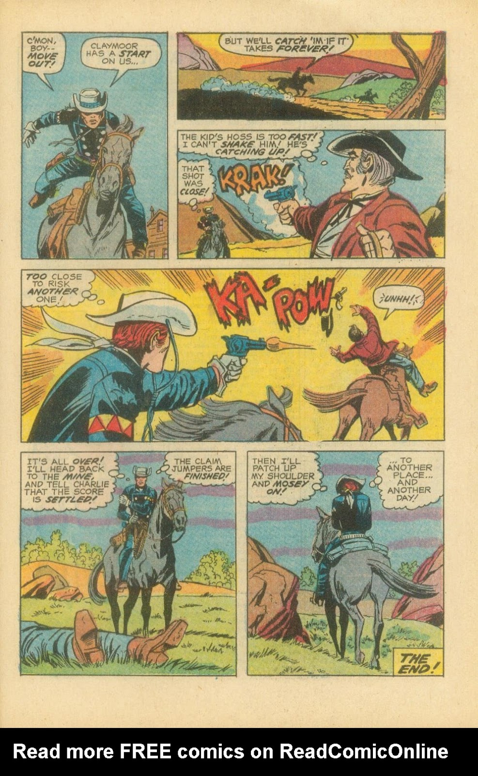 The Rawhide Kid (1955) issue 87 - Page 30