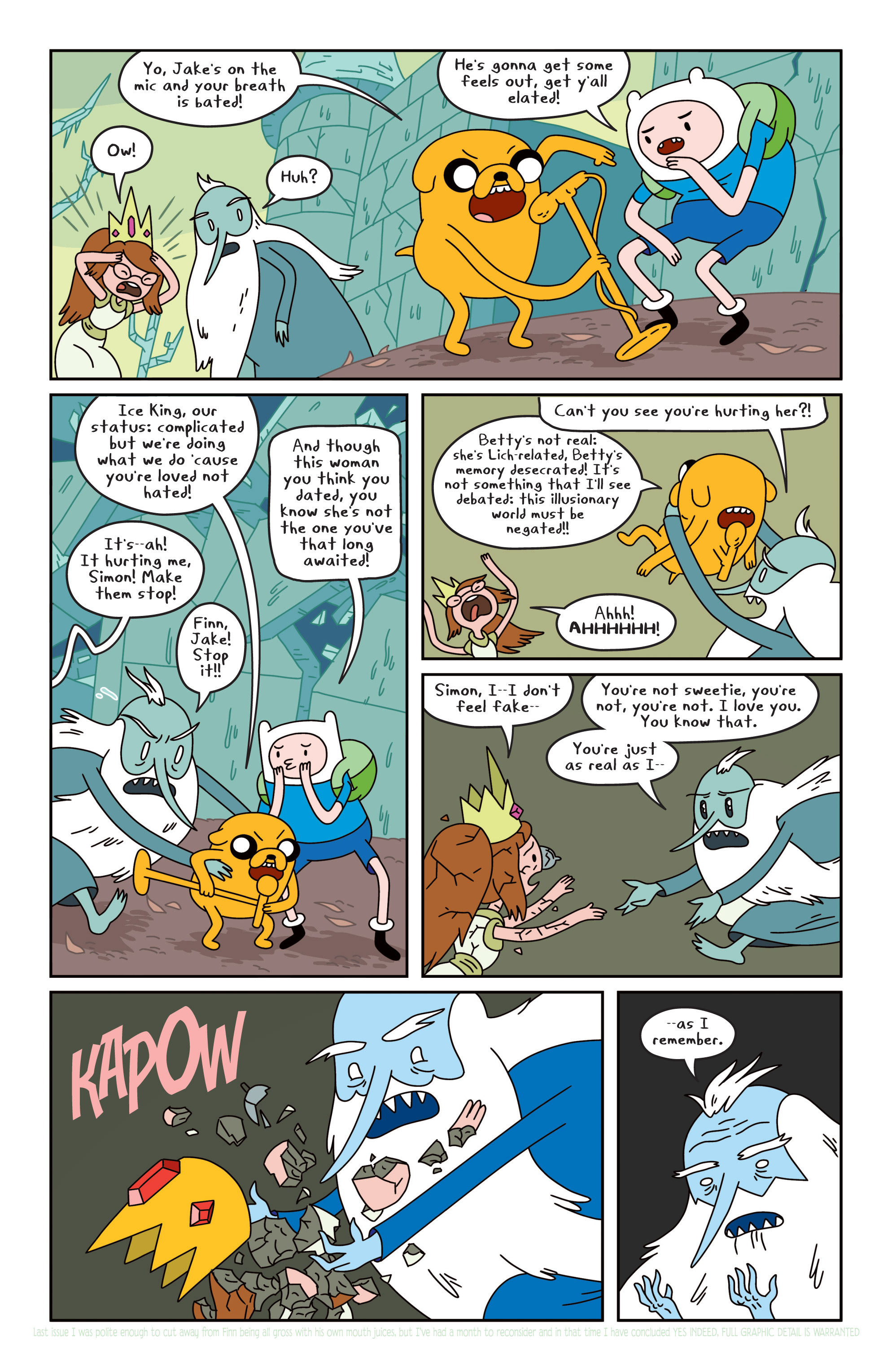 Read online Adventure Time comic -  Issue #19 - 16