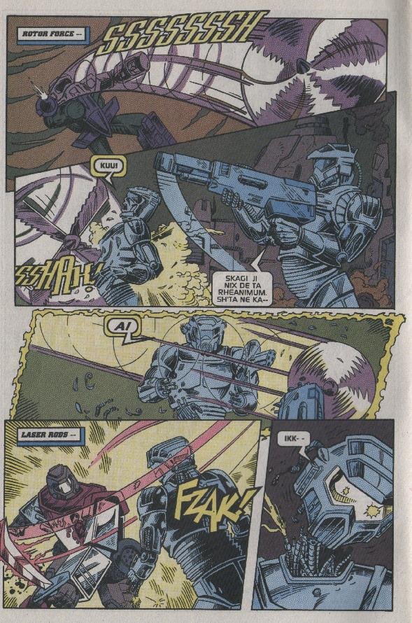 Read online Transformers: Generation 2 comic -  Issue #7 - 3
