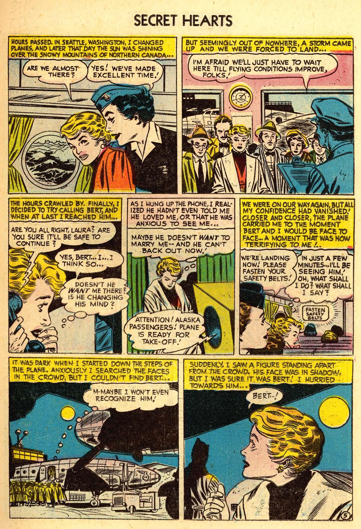 Read online Secret Hearts comic -  Issue #30 - 23
