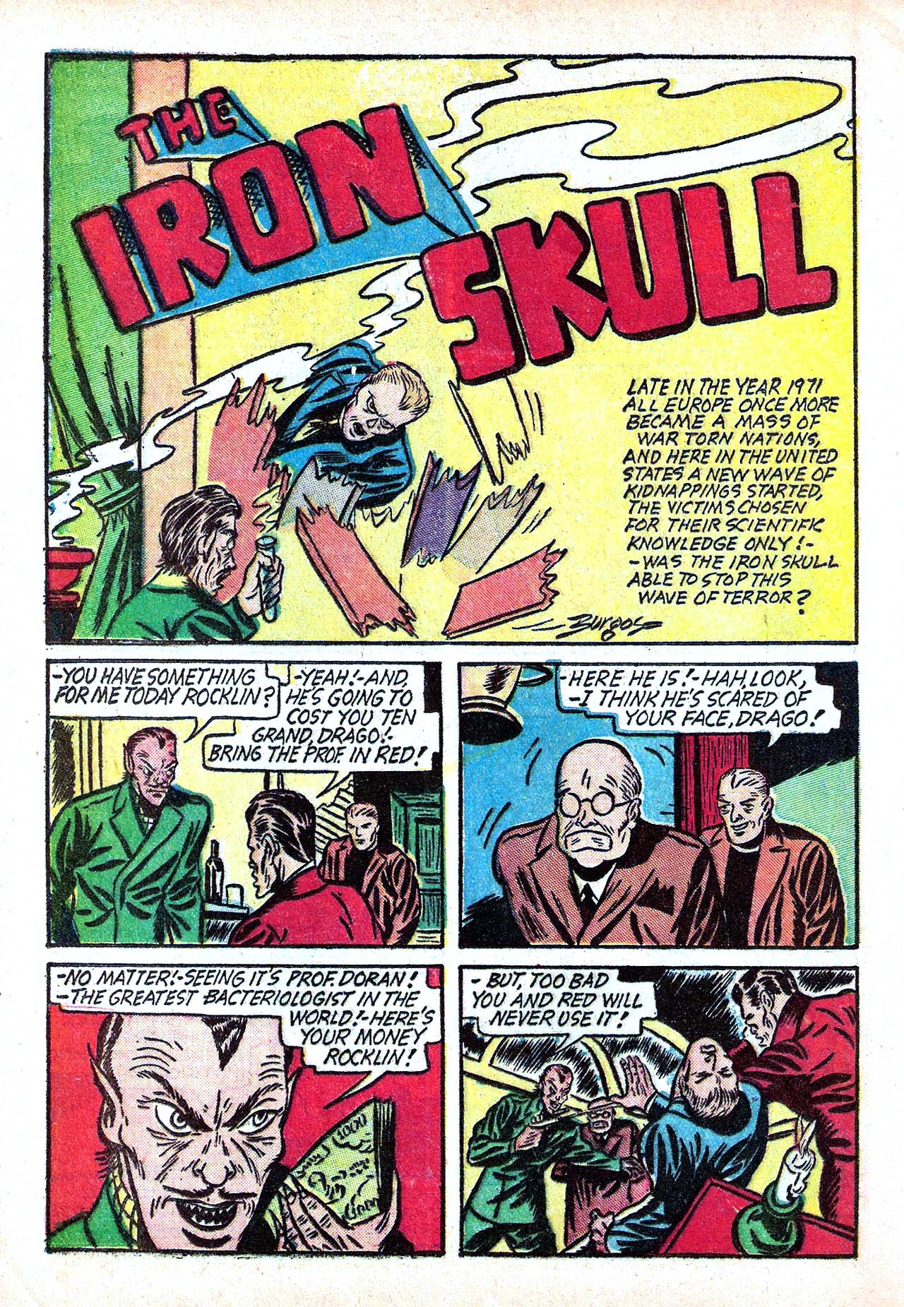 Read online Amazing Man Comics comic -  Issue #11 - 20