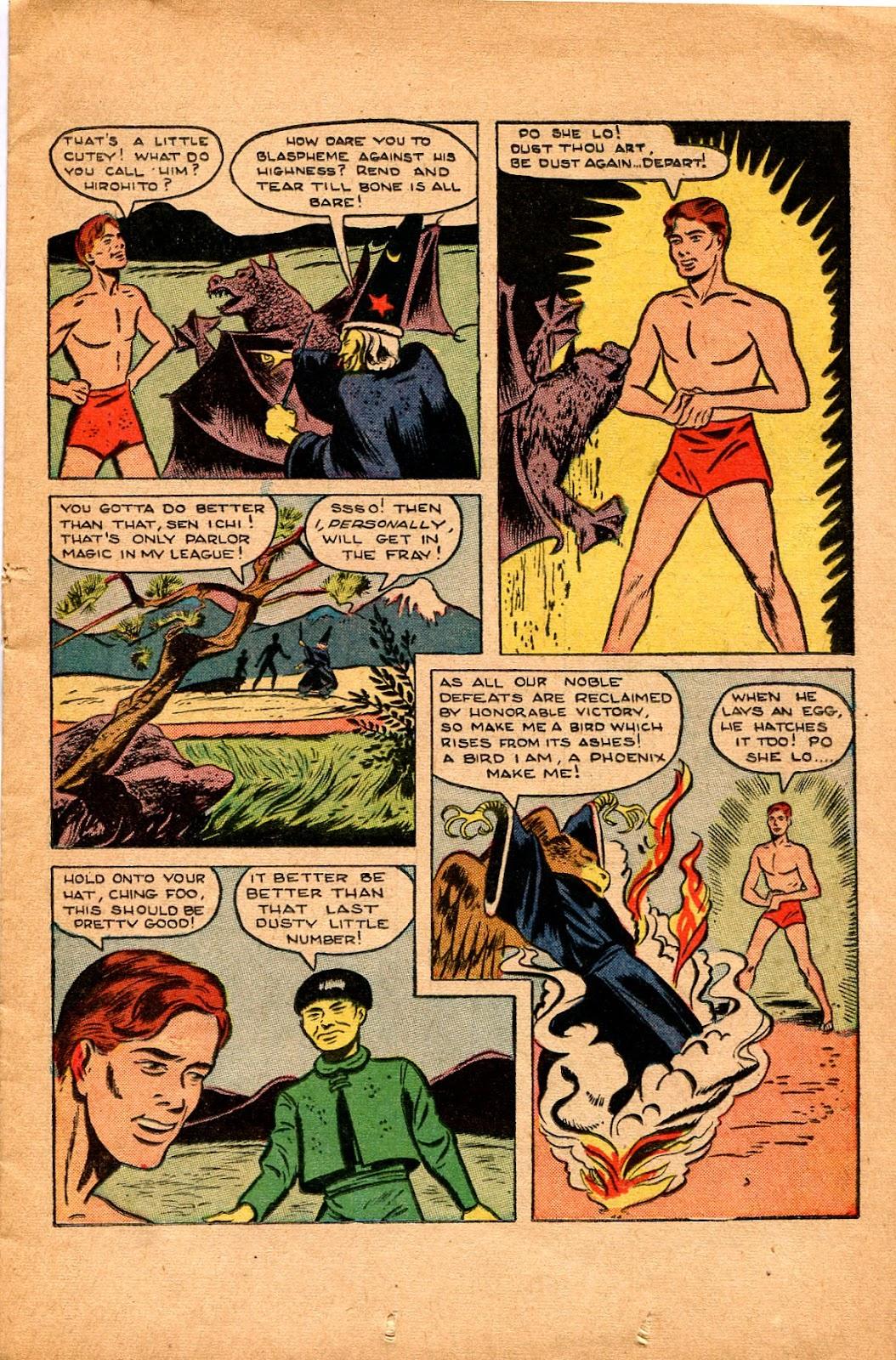 Read online Super-Magician Comics comic -  Issue #34 - 19