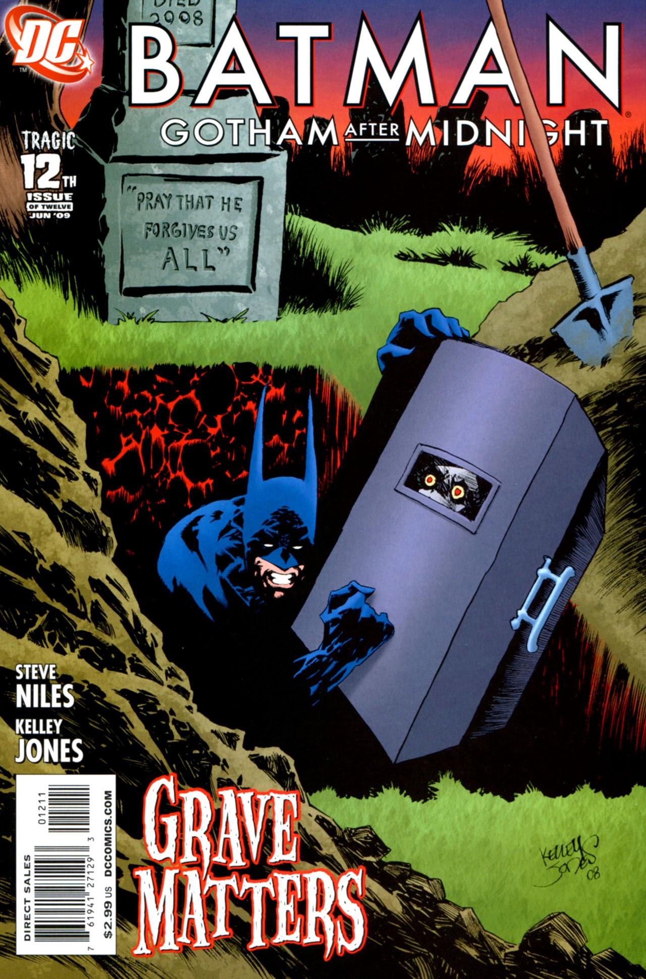 Batman: Gotham After Midnight 12 Page 1
