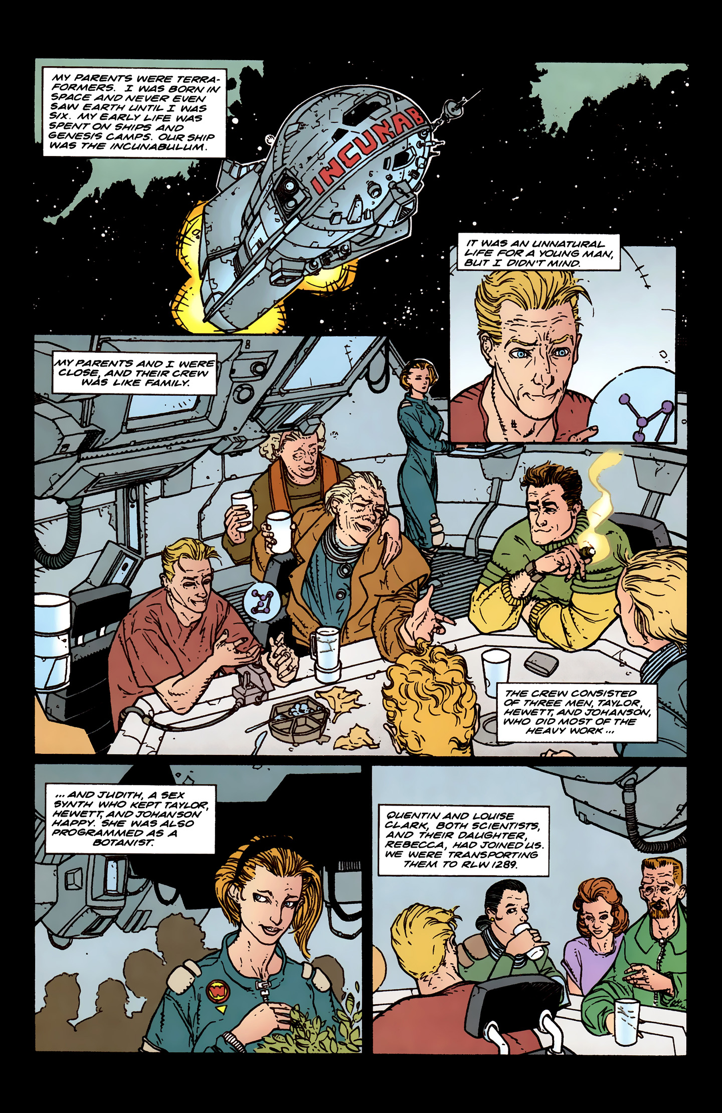 Read online Aliens: Labyrinth comic -  Issue #3 - 6