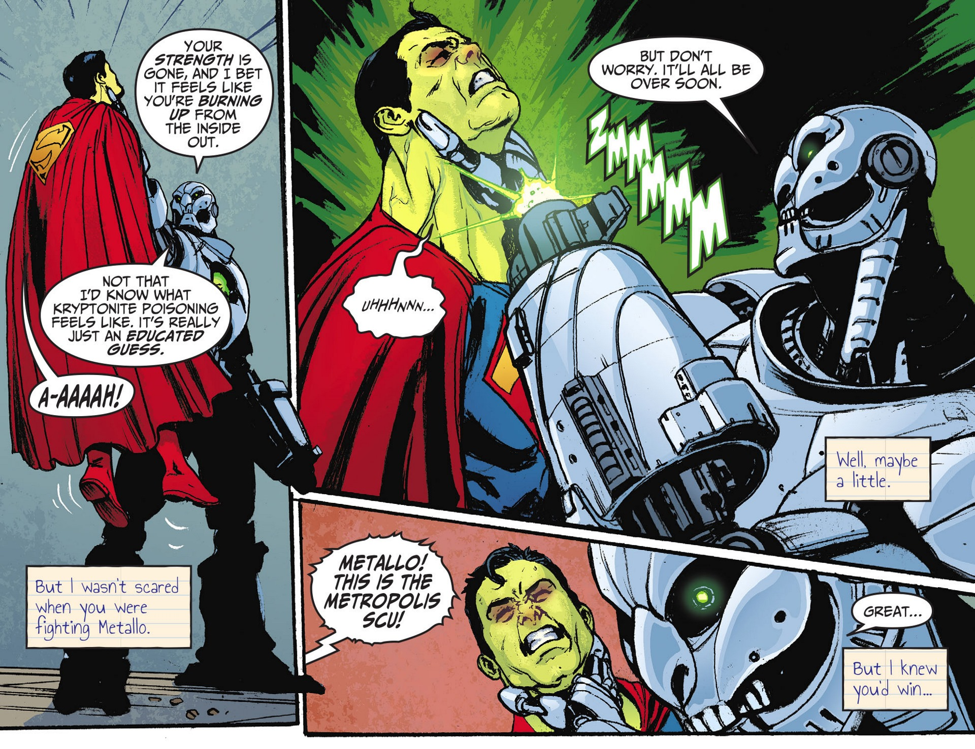 Read online Adventures of Superman [I] comic -  Issue #28 - 11