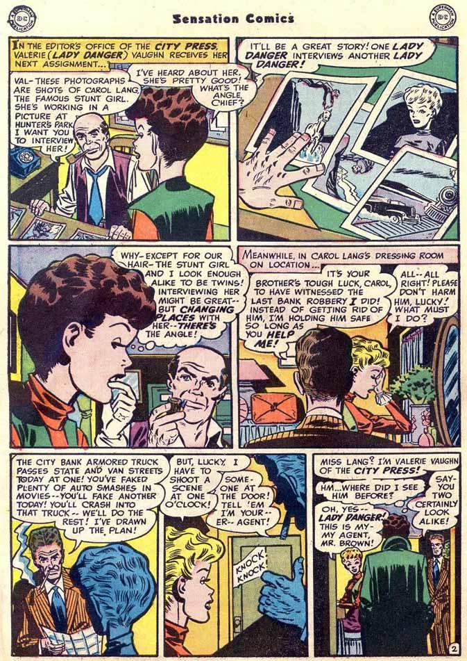 Read online Sensation (Mystery) Comics comic -  Issue #89 - 42