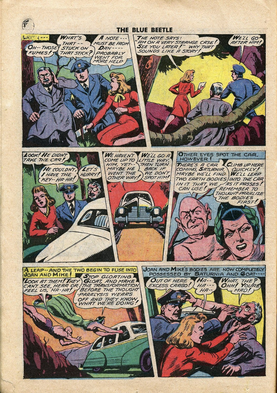 The Blue Beetle issue 34 - Page 17