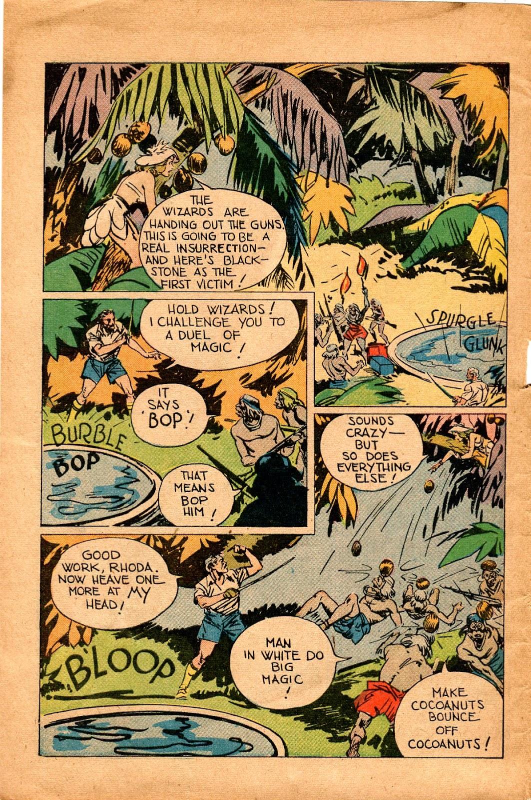 Read online Super-Magician Comics comic -  Issue #34 - 12