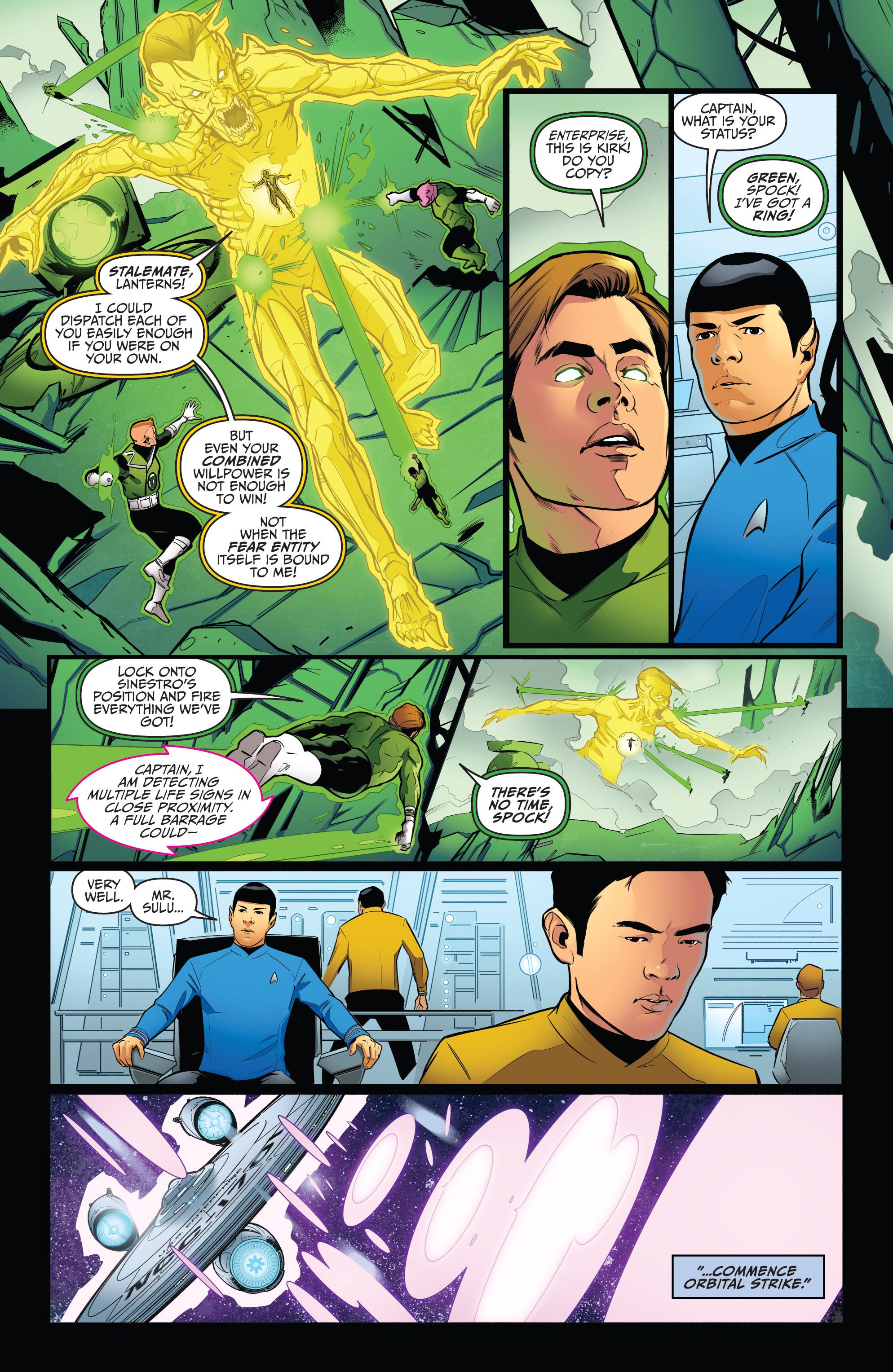 Read online Star Trek/Green Lantern (2016) comic -  Issue #6 - 14