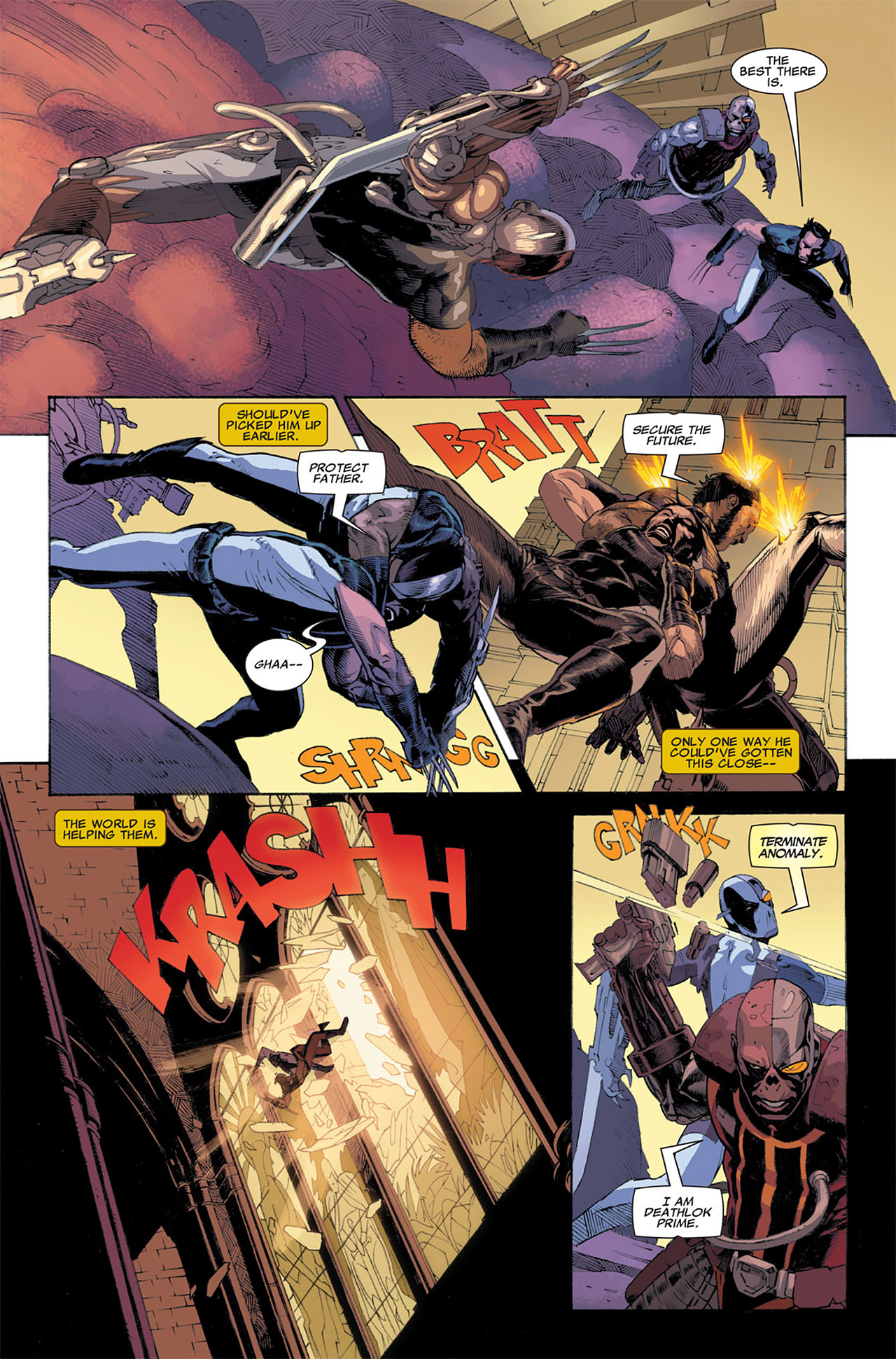 Read online Uncanny X-Force (2010) comic -  Issue #7 - 7