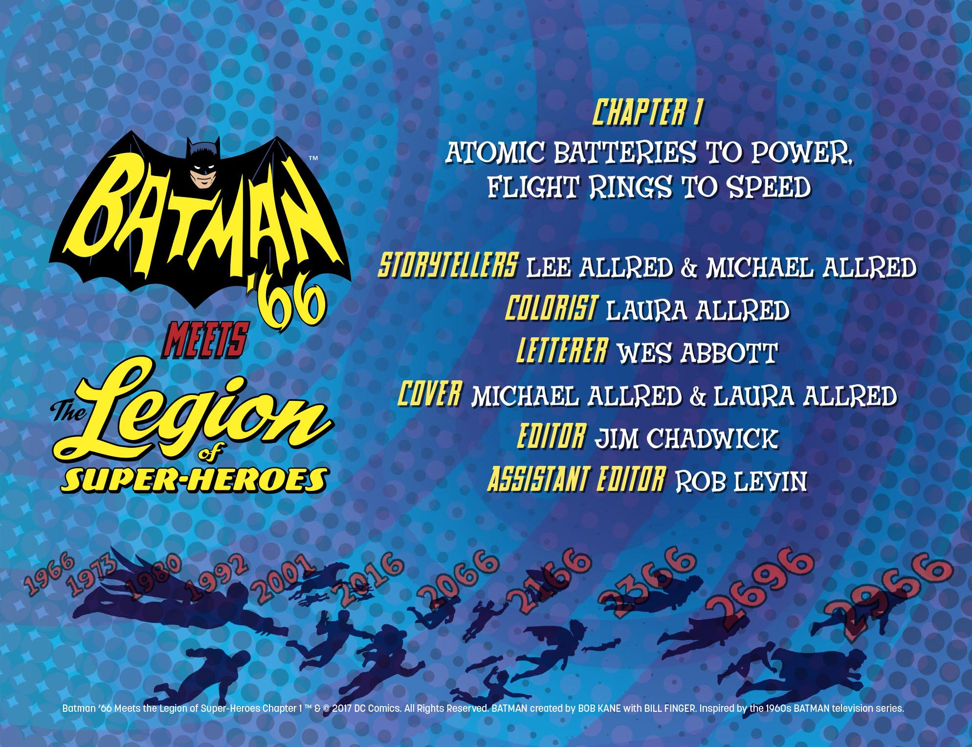 Read online Batman '66 Meets the Legion of Super-Heroes comic -  Issue #1 - 3