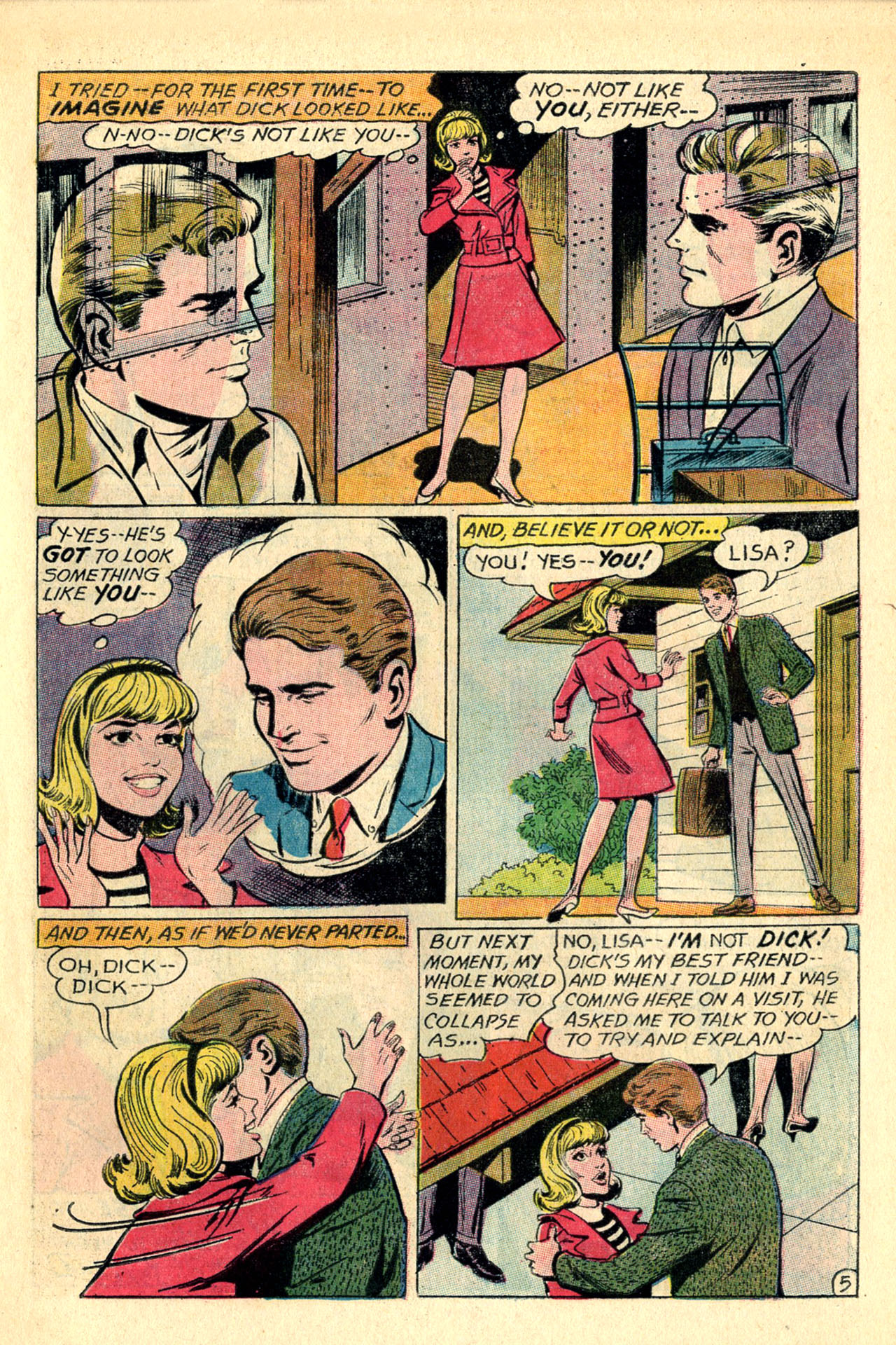 Read online Secret Hearts comic -  Issue #118 - 7