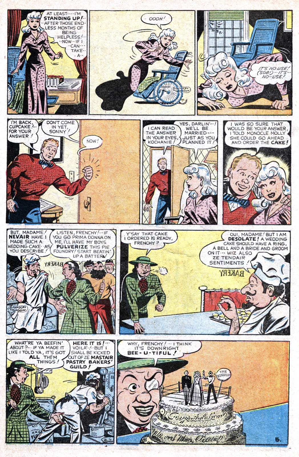 Read online Famous Funnies comic -  Issue #193 - 7