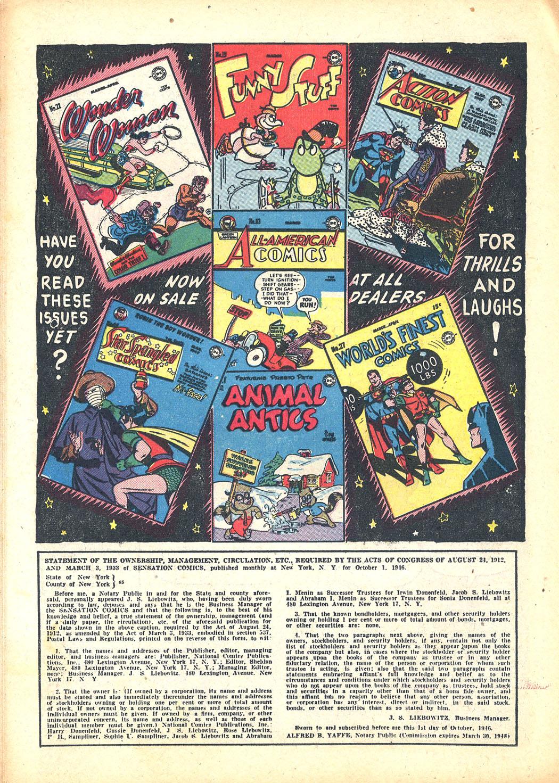 Read online Sensation (Mystery) Comics comic -  Issue #63 - 38