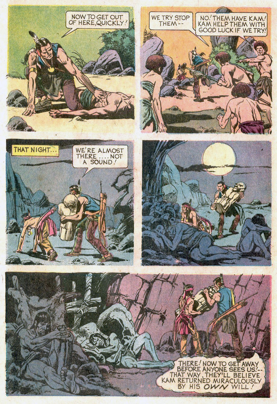 Read online Turok, Son of Stone comic -  Issue #92 - 32