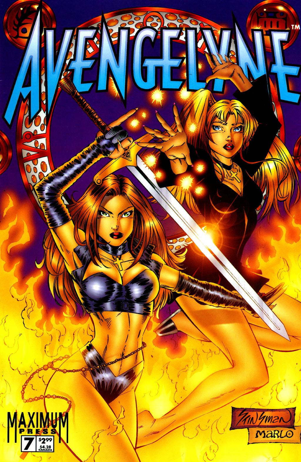 Read online Avengelyne (1996) comic -  Issue #7 - 1