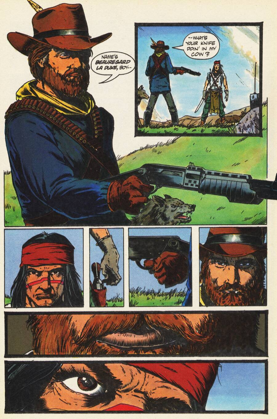 Read online Scout comic -  Issue #9 - 7