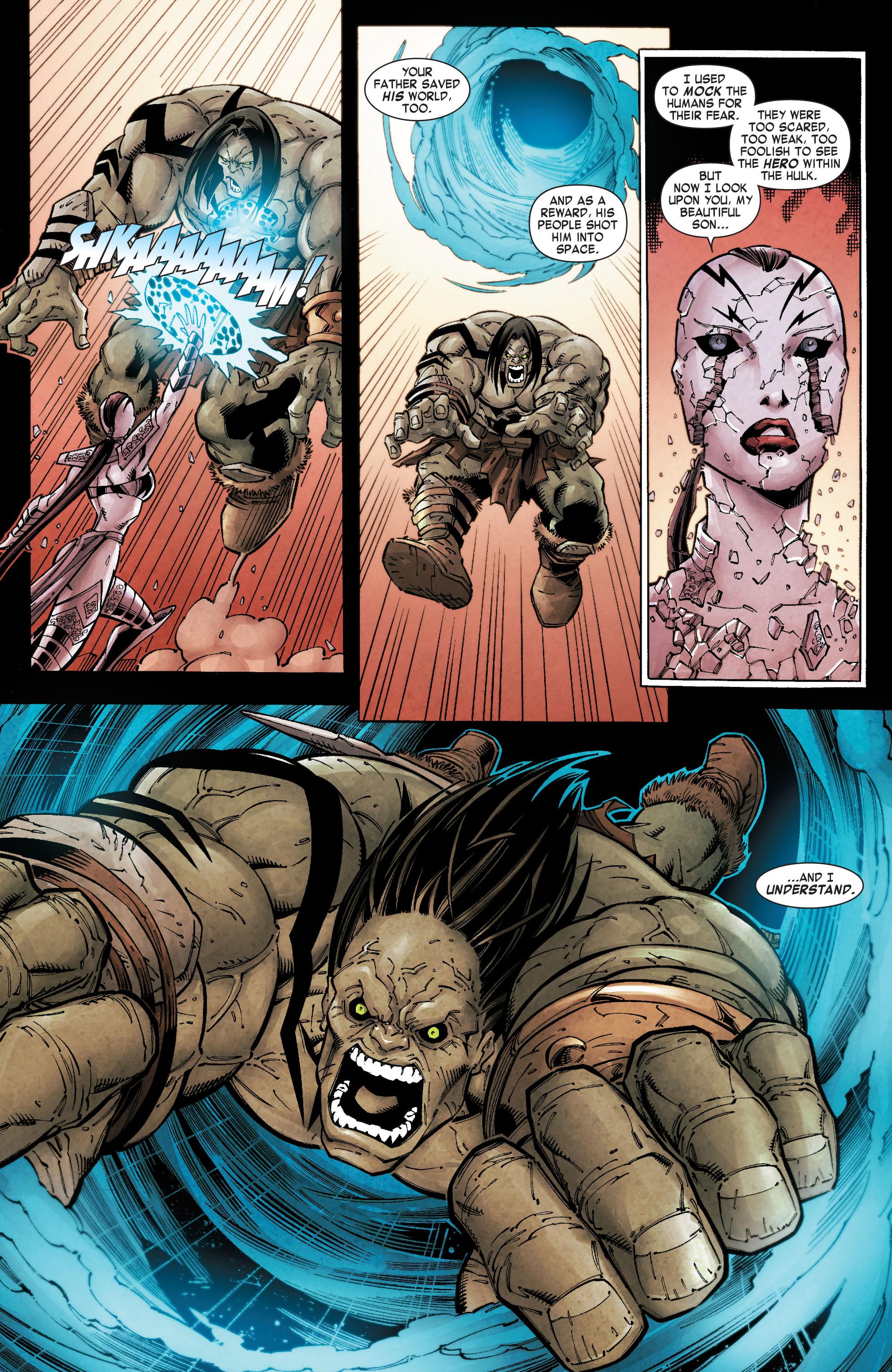 Read online Skaar: Son of Hulk comic -  Issue #10 - 23