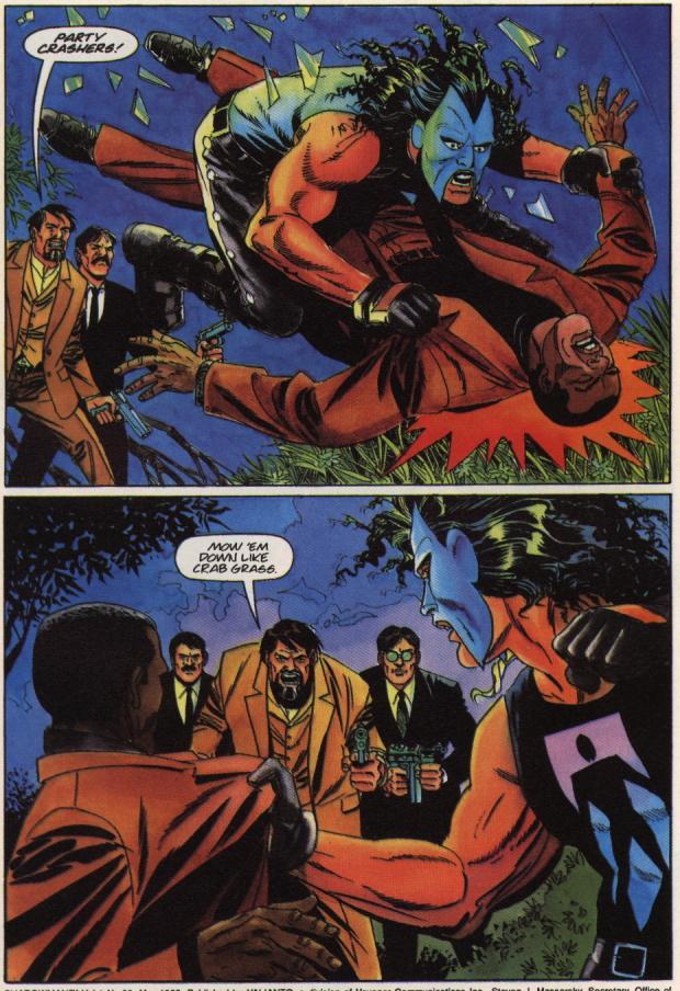 Read online Shadowman (1992) comic -  Issue #36 - 4