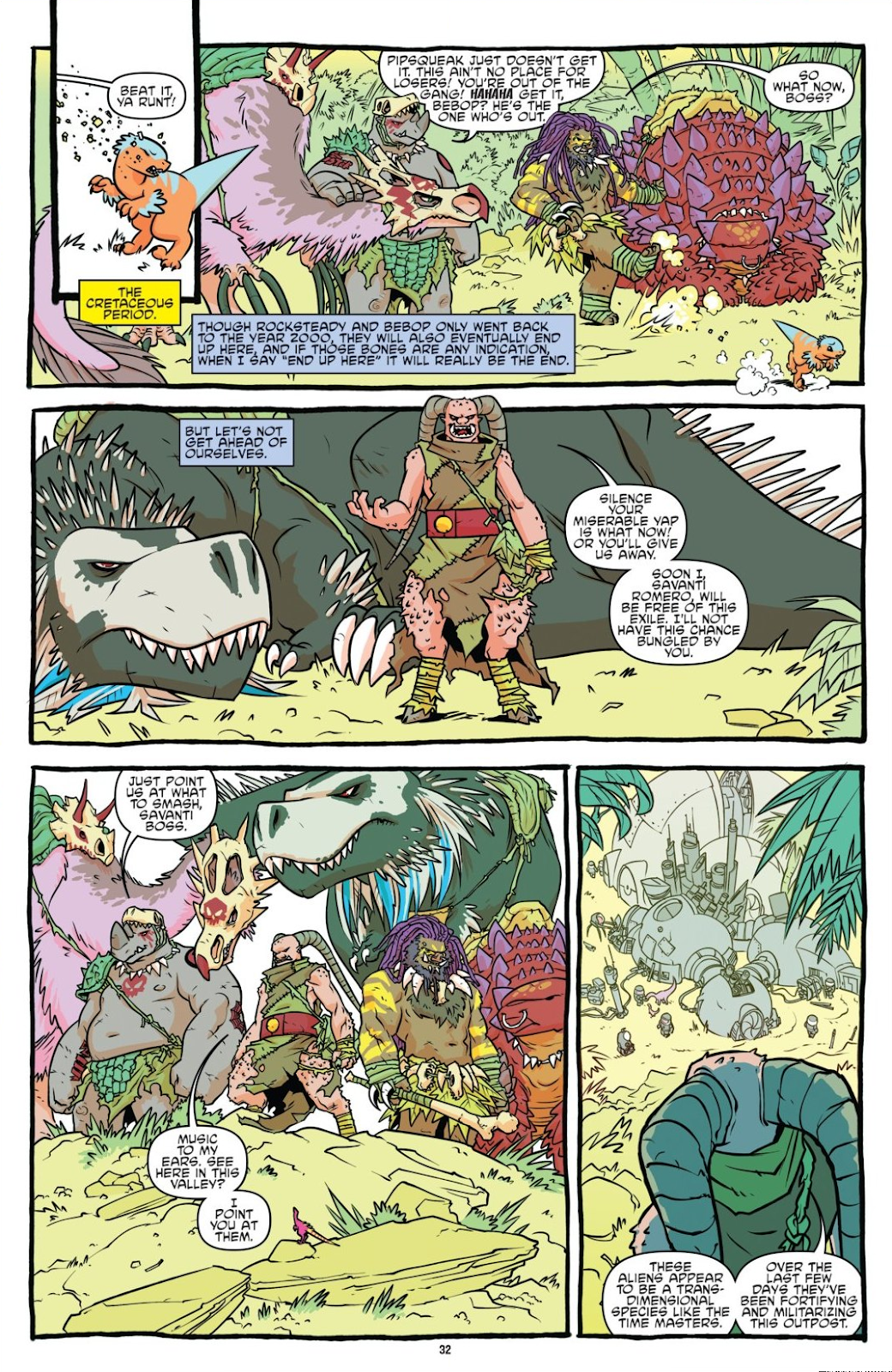 Read online Teenage Mutant Ninja Turtles: The IDW Collection comic -  Issue # TPB 8 (Part 1) - 32