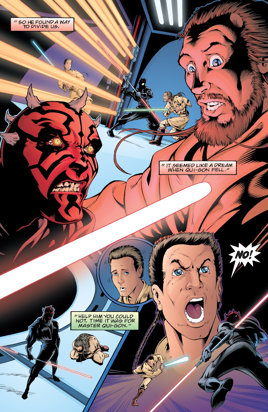 Read online Star Wars Legends: Rise of the Sith - Epic Collection comic -  Issue # TPB 2 (Part 5) - 43