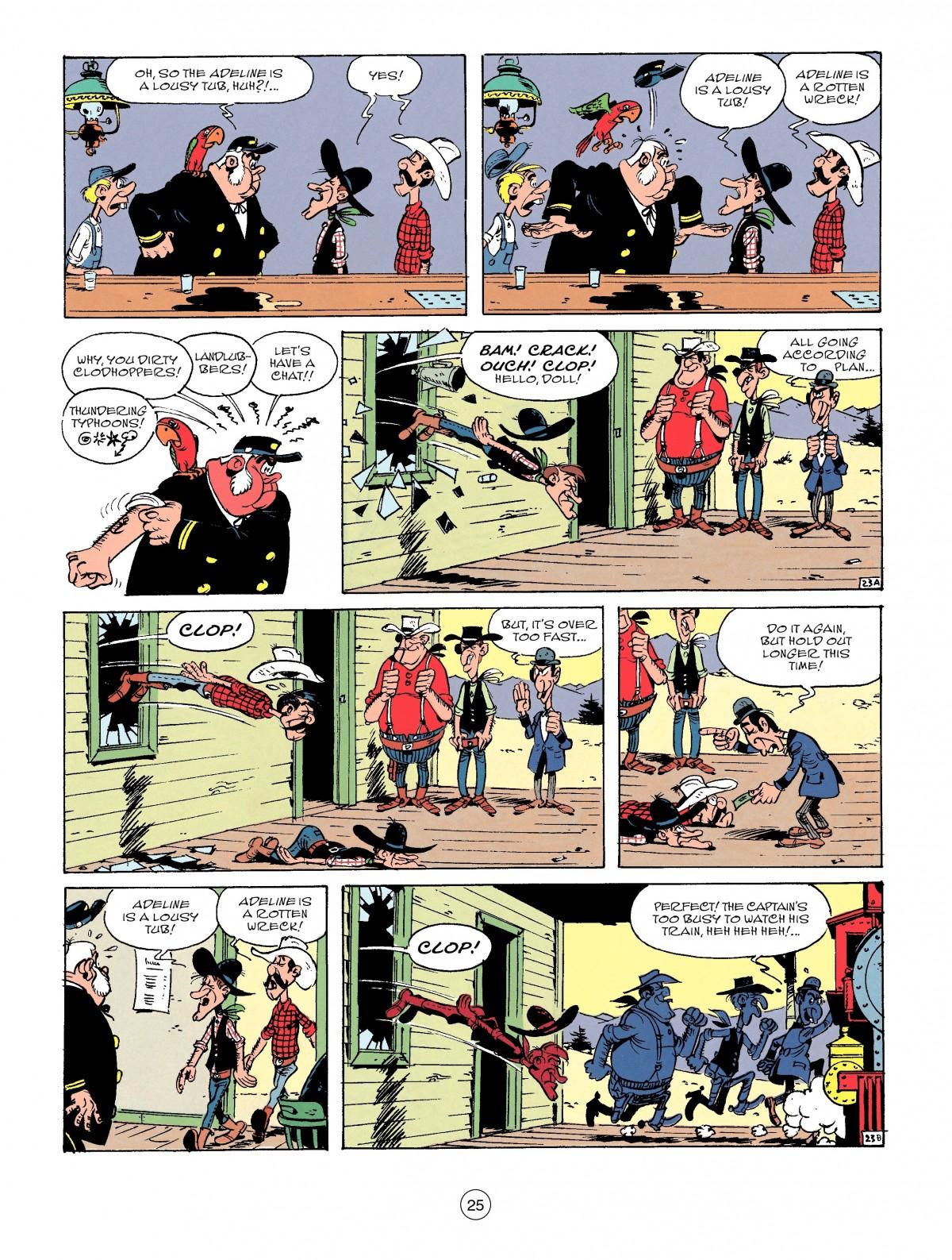 Read online A Lucky Luke Adventure comic -  Issue #53 - 25