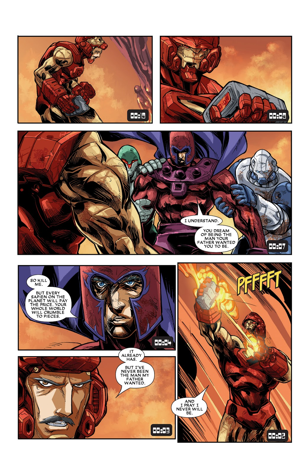 Iron Man: House of M Issue #3 #3 - English 21