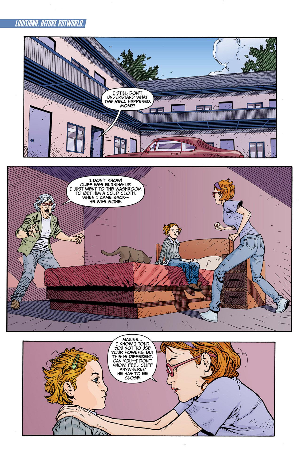 Read online Animal Man (2011) comic -  Issue #13 - 9