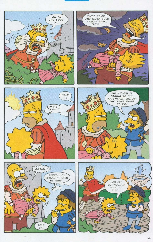 Read online Simpsons Comics comic -  Issue #76 - 26