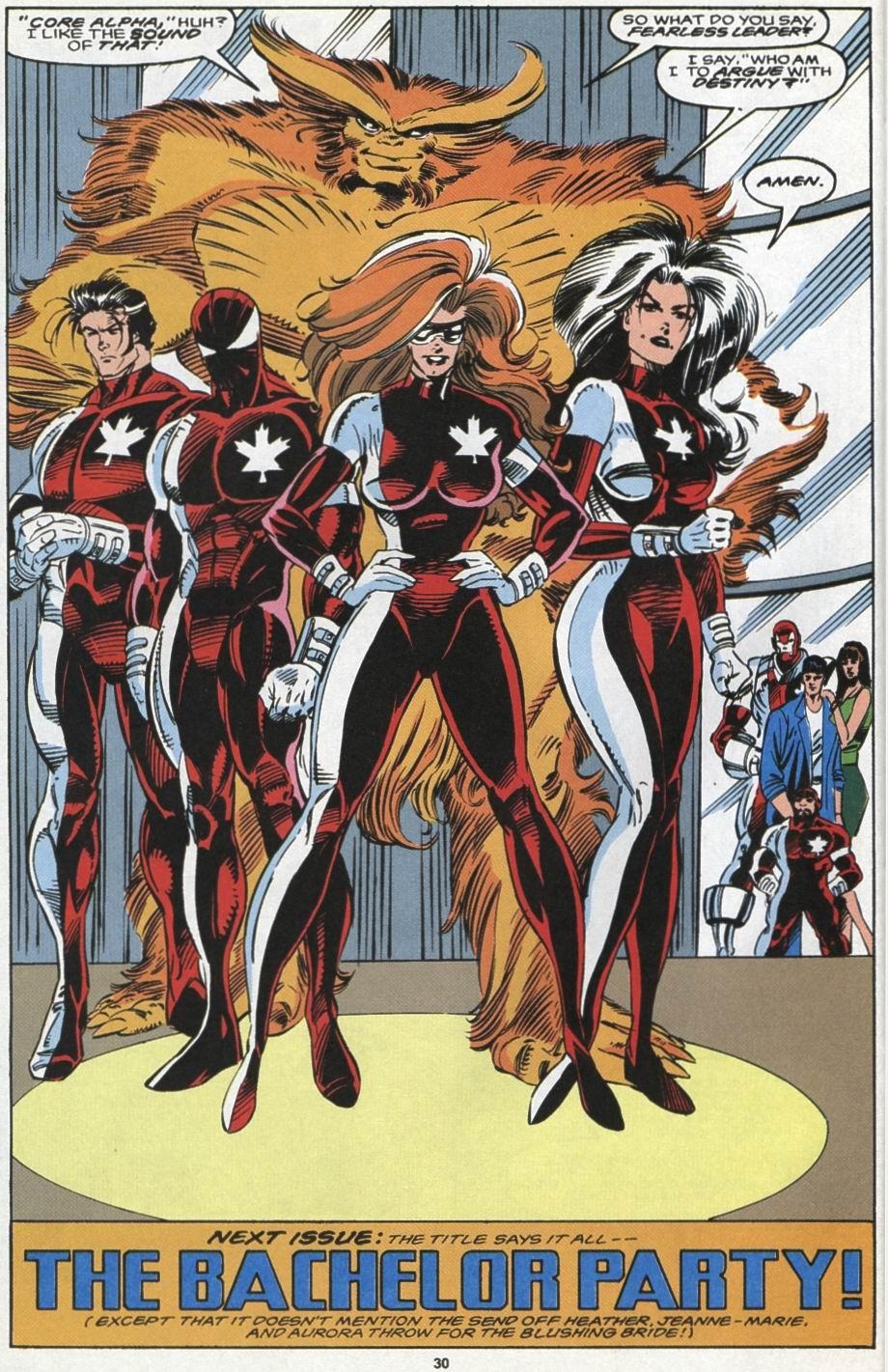 Read online Alpha Flight (1983) comic -  Issue #104 - 23