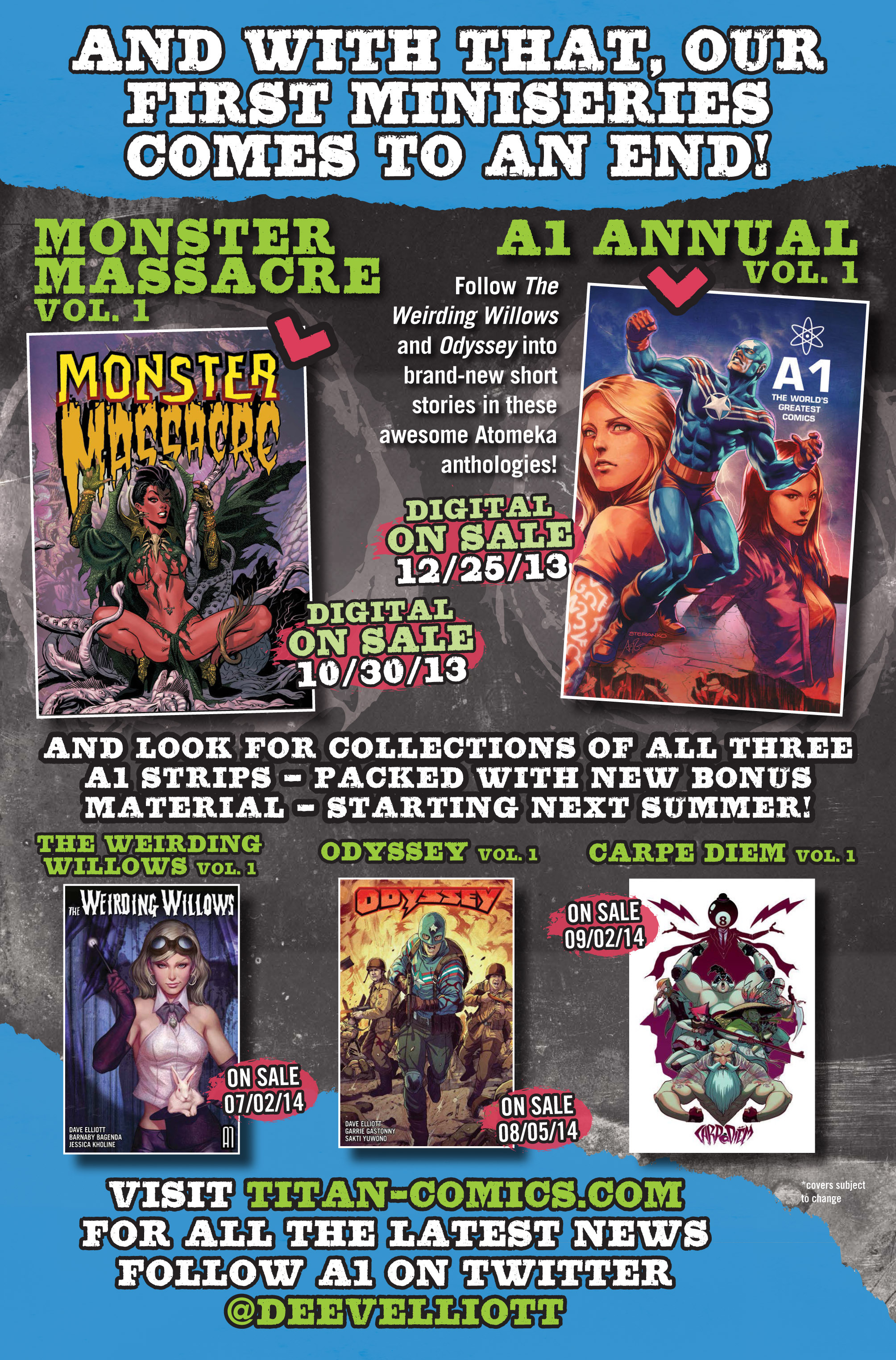Read online A1 comic -  Issue #6 - 14
