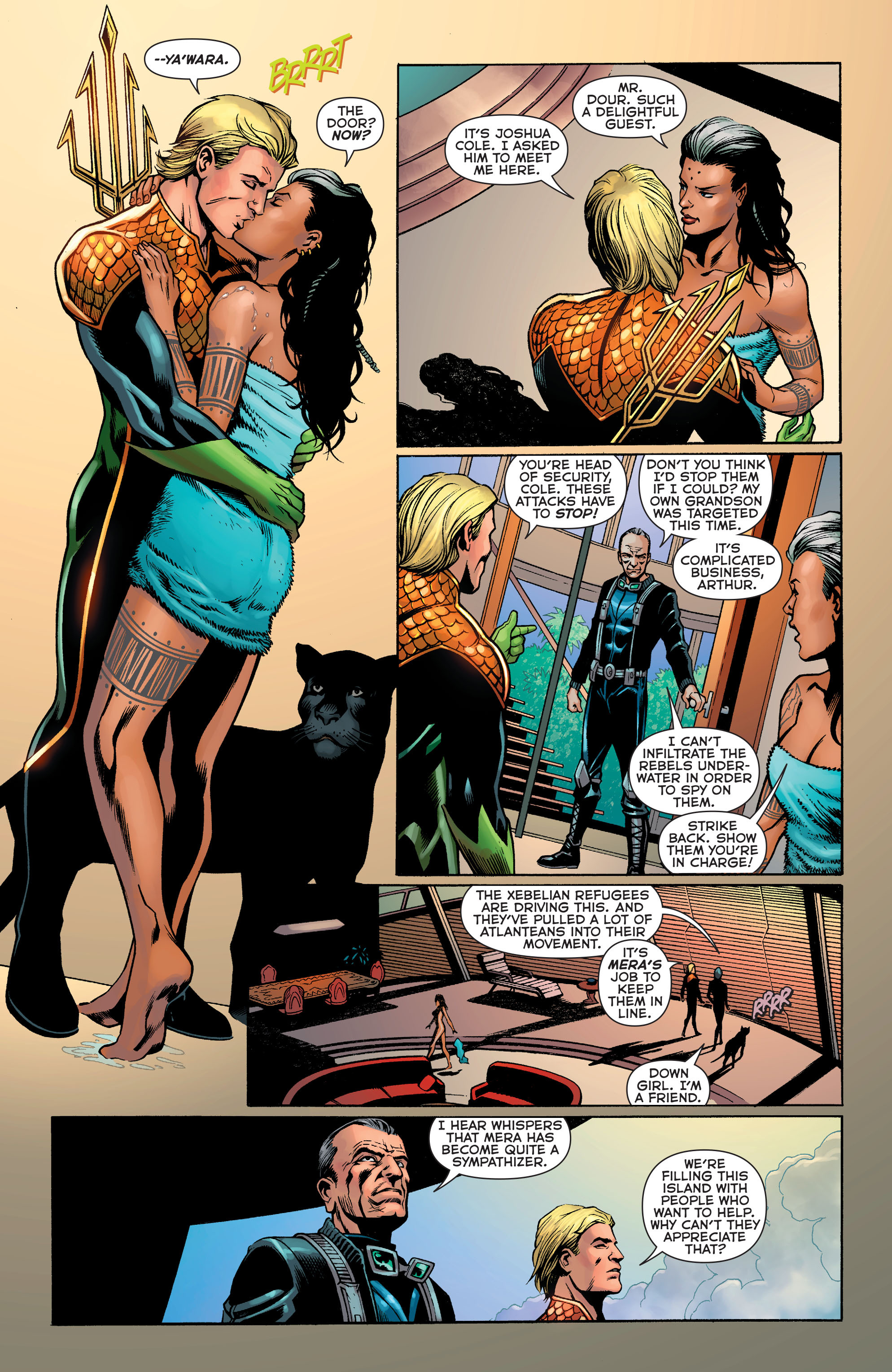Read online Aquaman: Futures End comic -  Issue #Aquaman: Futures End Full - 11