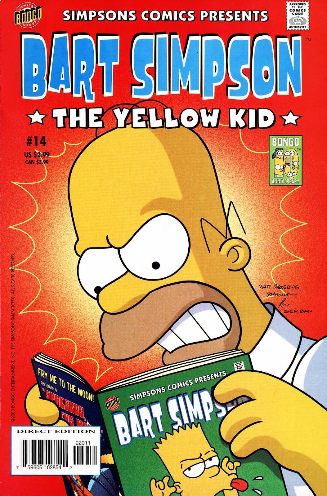 Simpsons Comics Presents Bart Simpson 14 Page 1