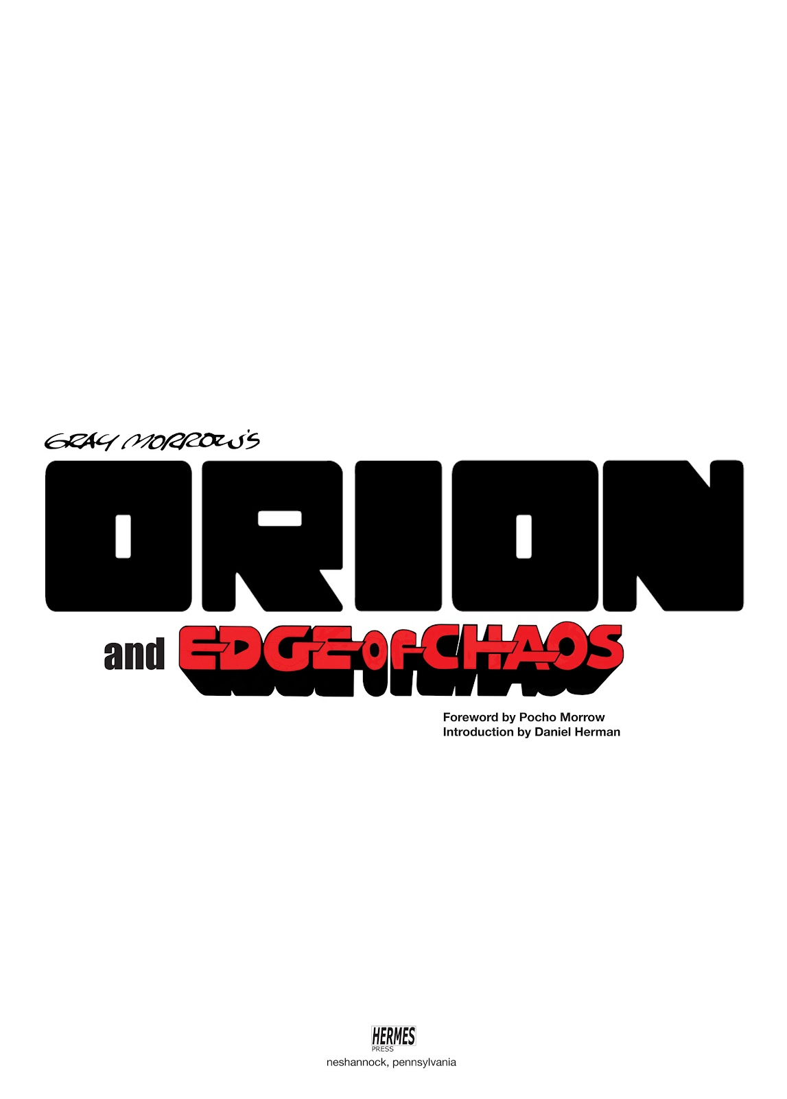 Read online Orion and Edge of Chaos comic -  Issue # TPB - 2