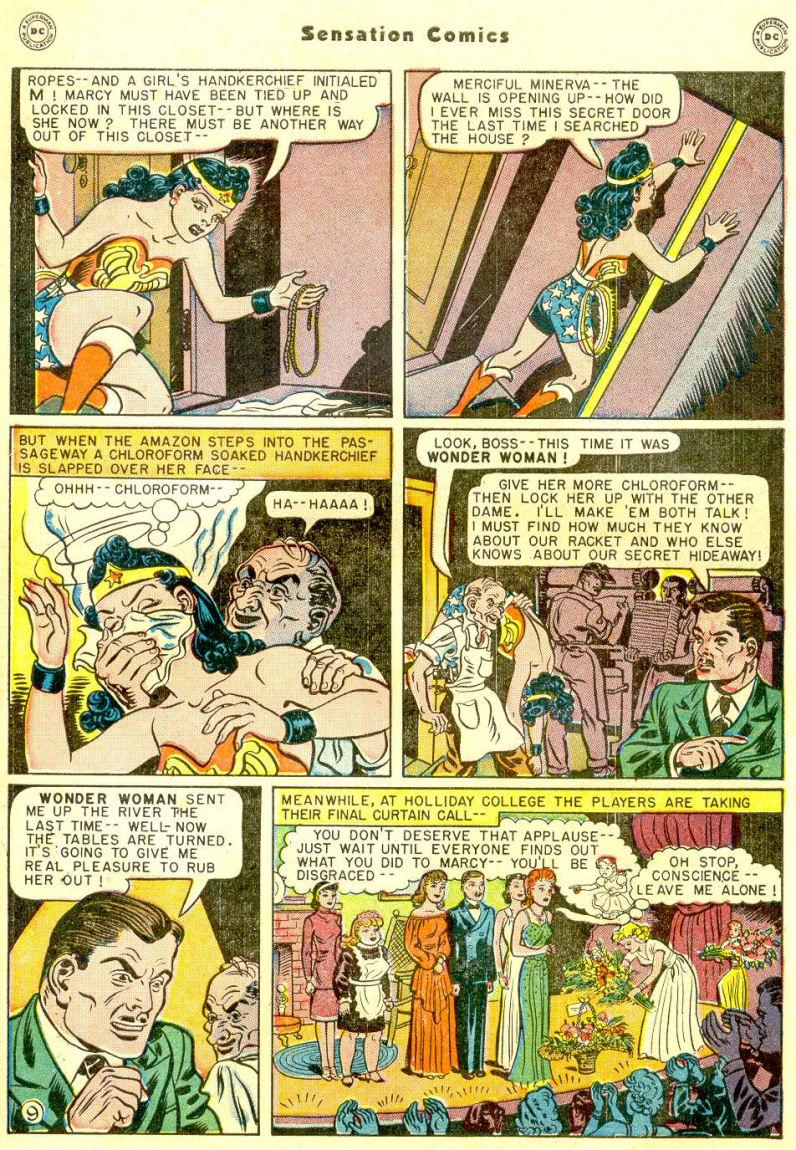 Read online Sensation (Mystery) Comics comic -  Issue #77 - 11