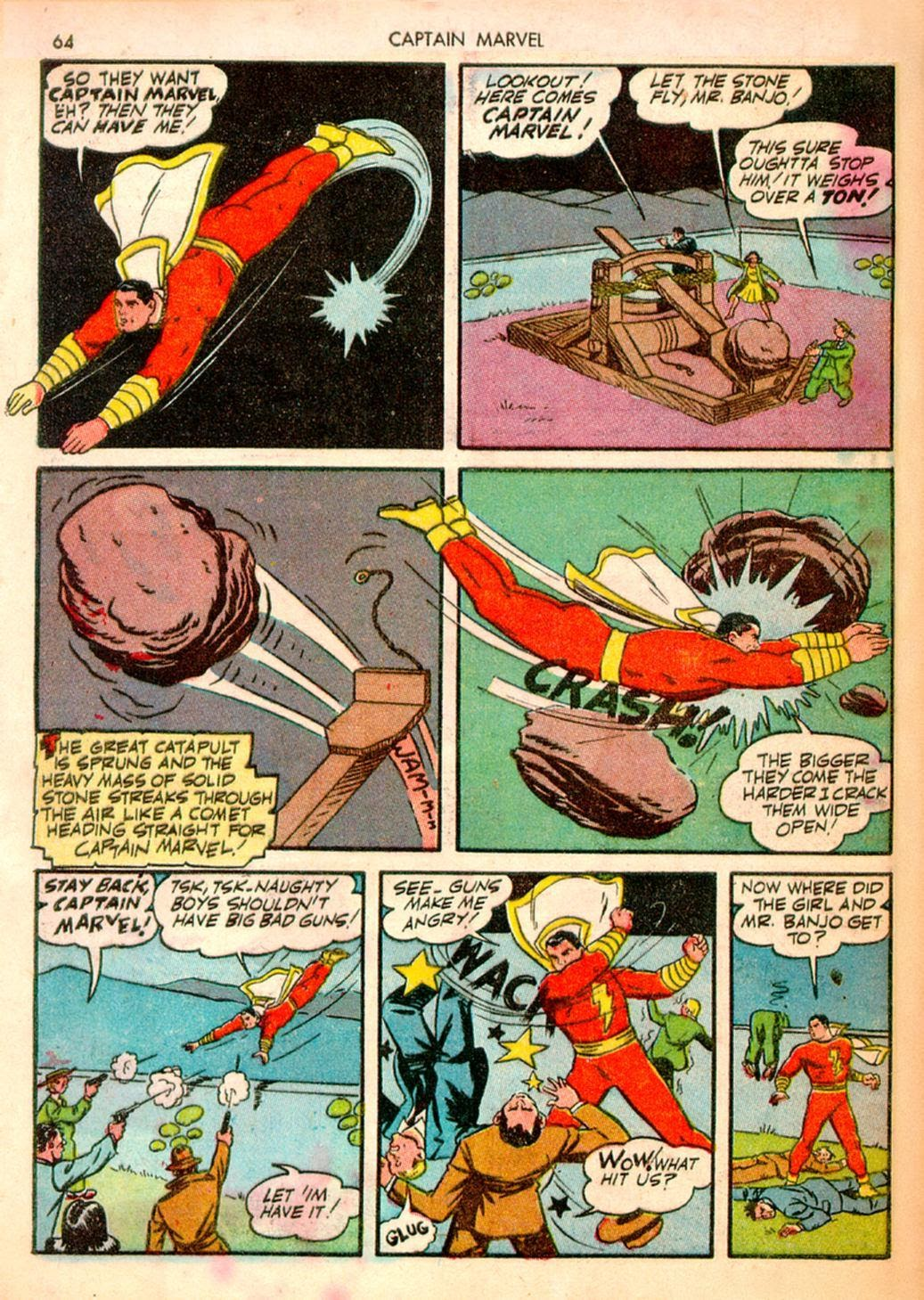 Captain Marvel Adventures issue 10 - Page 64