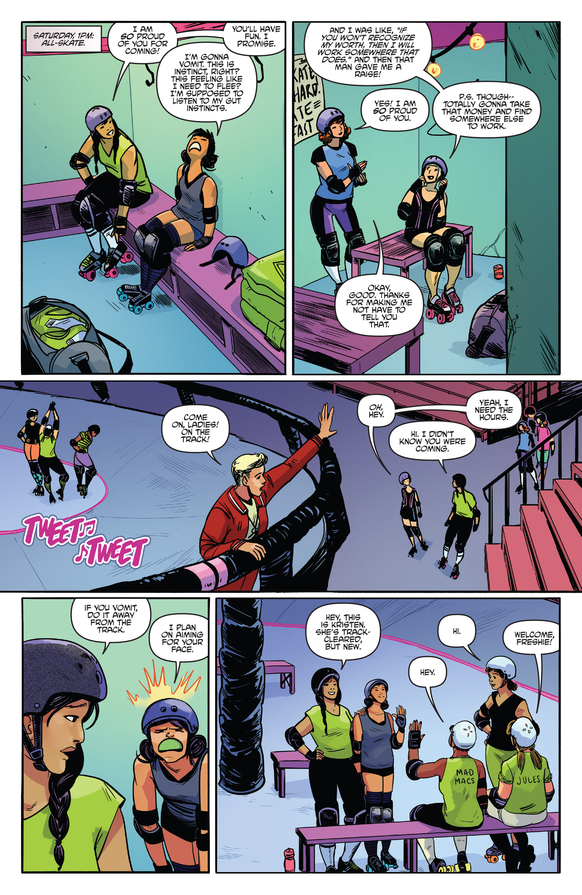 Read online Slam! comic -  Issue #3 - 21