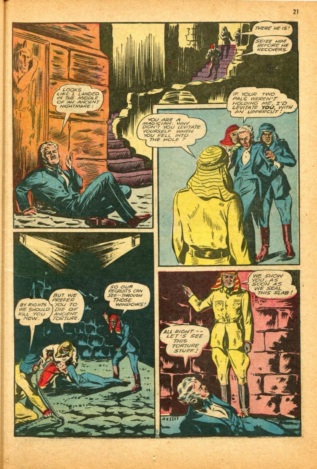 Read online Super-Magician Comics comic -  Issue #12 - 21