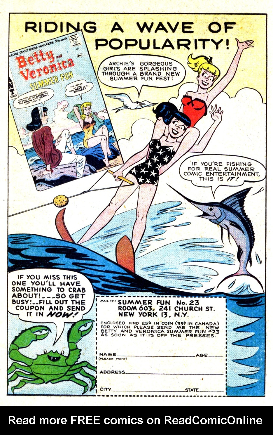 Read online Archie's Girls Betty and Veronica comic -  Issue #93 - 19