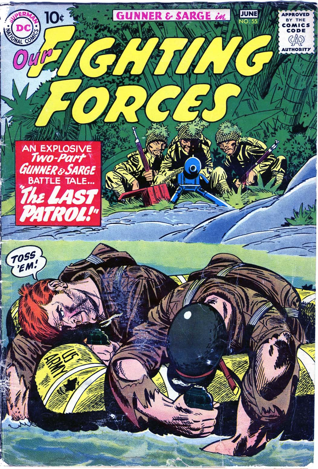 Our Fighting Forces (1954) issue 55 - Page 1