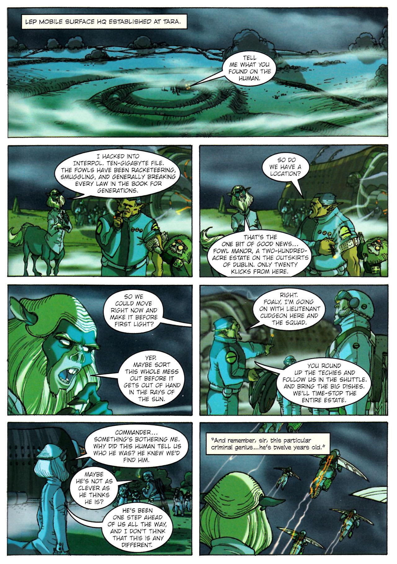 Read online Artemis Fowl: The Graphic Novel comic -  Issue #Artemis Fowl: The Graphic Novel Full - 52